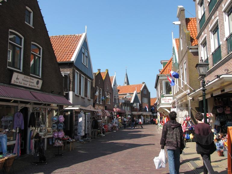 Souvenir shops in Volendam. - Amsterdam