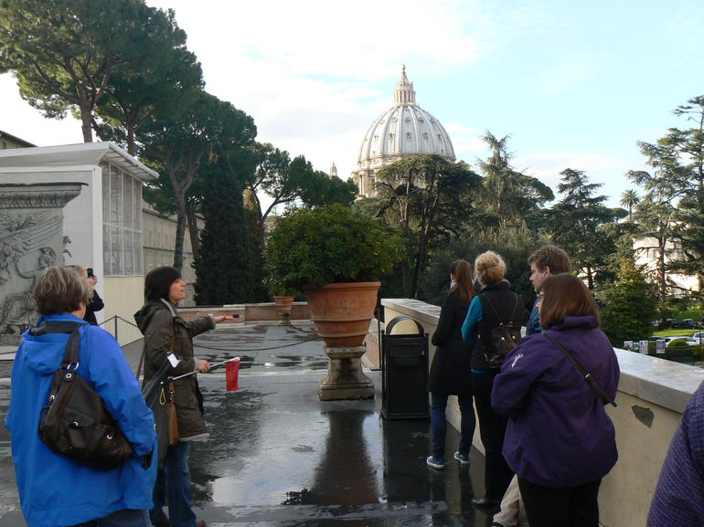 Vatican Museums and City - Rome