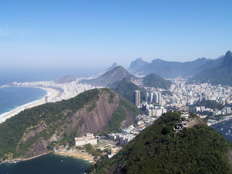 View from Sugarloaf Mountain - Rio de Janeiro