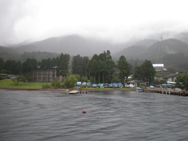 View in Hakone Lake - Tokyo