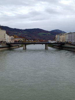 The Salzach (salt river) , Mike G - November 2014