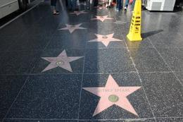 Celebrity's stars on the walk of fame - April 2010