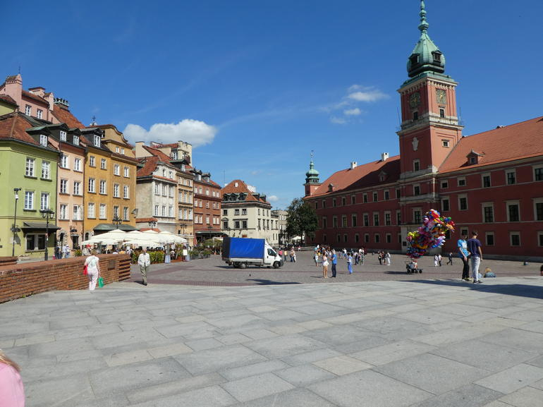Small-Group Historical Guided Tour of Warsaw with pick up/drop off. Public Tour.