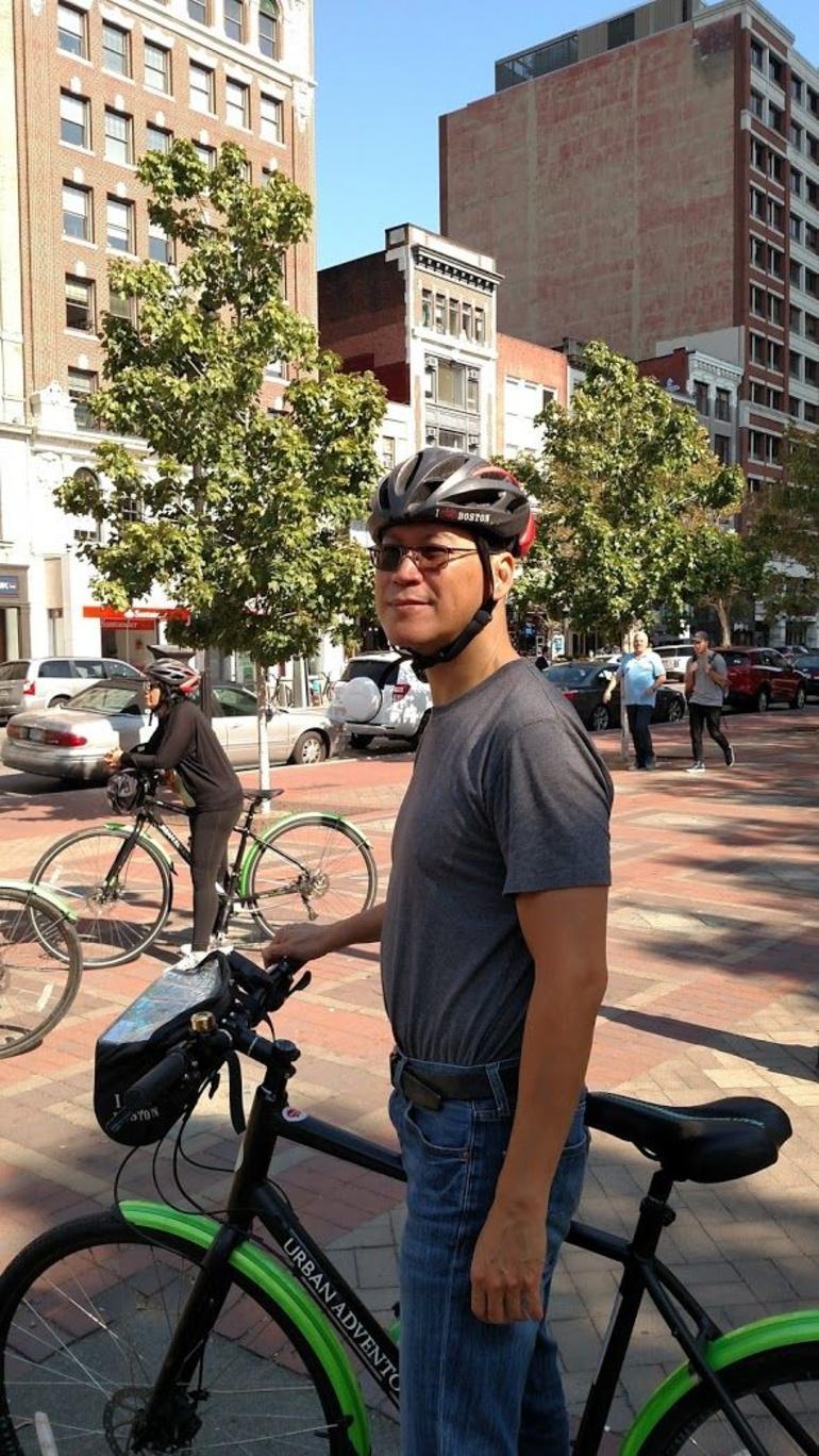 Boston City view Bicycle Tour