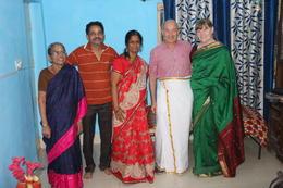 Grandmother, father, mother, and visitors , Bernard F - December 2017