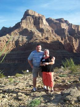 Norm & Jayne Satterley spending their 30th wedding anniversary at the bottom of the Grand Canyon., Susan S - March 2008