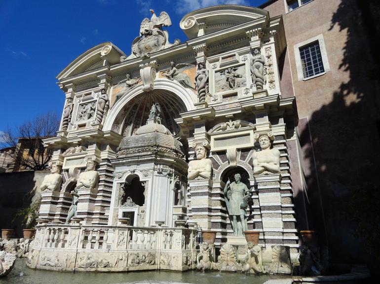 At Villa D'Este - Rome