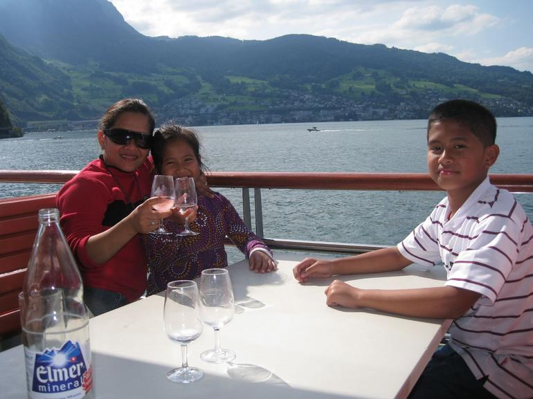 Dining on the cruise - Zurich
