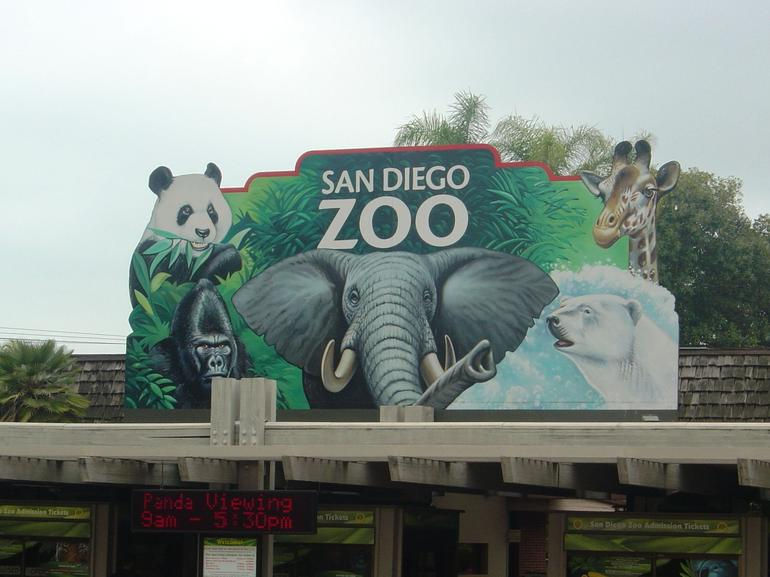 Entrance to San Diego Zoo - San Diego