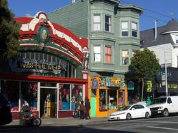 Cool vintage/secondhand shop in Haight-Ashbury district, San Francisco, skigirlsf - December 2011