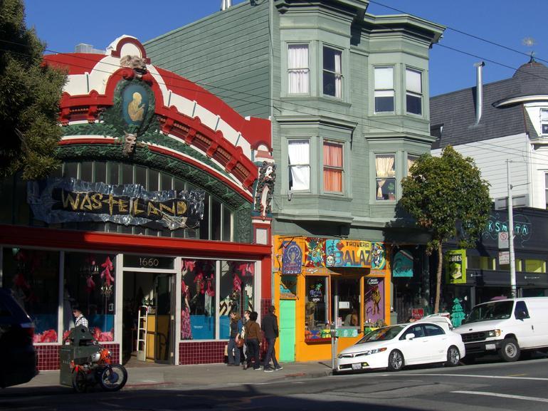 Haight-Ashbury shops, San Francisco - San Francisco