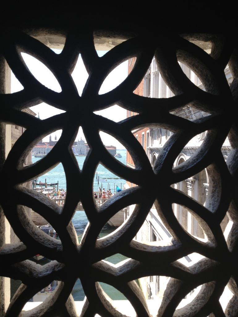 Inside the Bridge of Sighs! - Venice