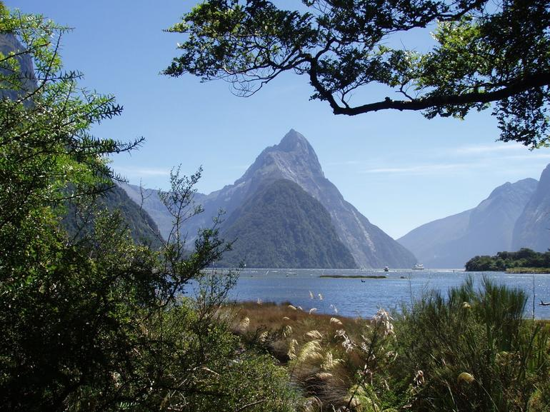 Mitre Peak at Milford Sound - Queenstown