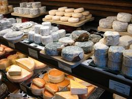 Paris Food Walking Tour - this was my favourite cheese shop. - May 2011