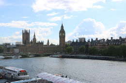View from London Eye looking at Parliament , Michael C - June 2015