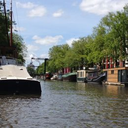 For a tourist the canals are a wonderful place to connect with the atmosphere of Amsterdam. , Laurinda L - June 2015