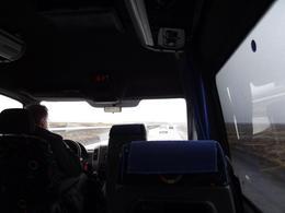 Met een kleine bus van vliegveld naar hotel. , M. A. v - May 2013