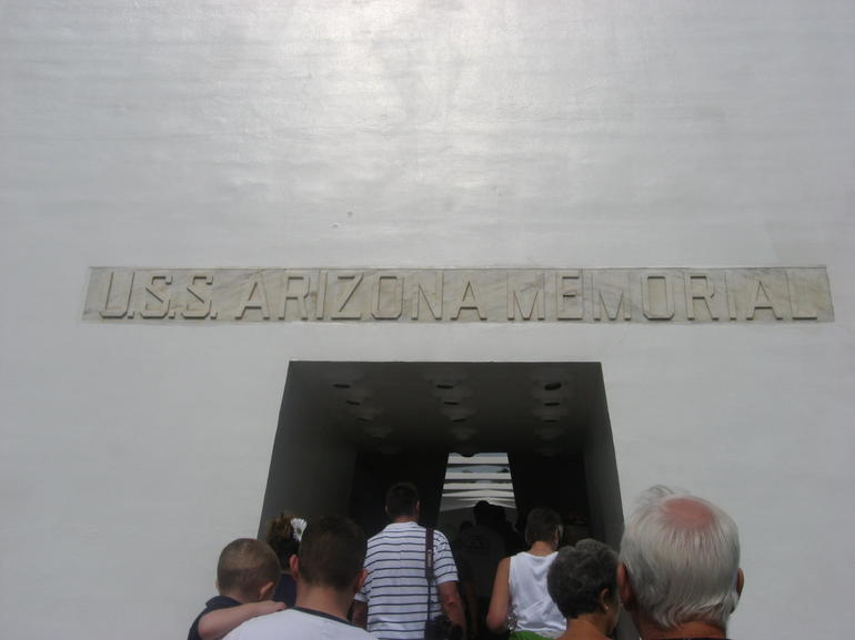 USS Arizona Entrance - Oahu