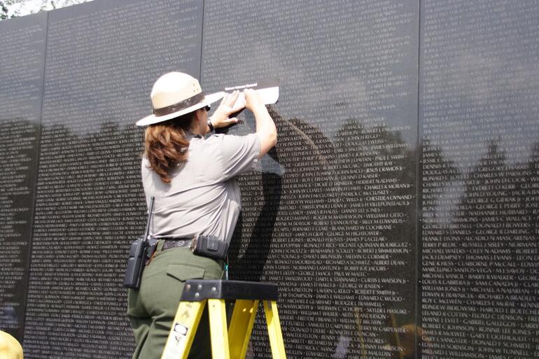 Vietnam War Memorial - Washington DC