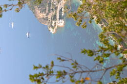 This is the view from the top of Eze, overlooking the Mediterranean Sea. Breathtaking! , JimK - August 2015