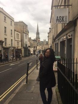 The city center of Bath , Kelly B - November 2017
