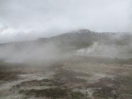 The surreal landscape around Geysir , alan g - June 2015