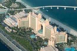Atlantis Hotel on the Jumeirah Palm, Dubai , A P - August 2013