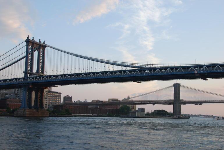 Brooklyn and Manhattan Bridges - New York City
