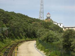 A funicular railway takes you up to the lighthouse if you don't want to climb up. We got it up to the lighthouse and walked back down., Valerie P - October 2009