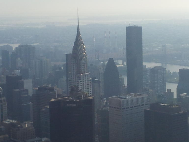 Chrysler Building From The Empire State - New York City