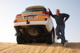Me - in the middle of the Desert Safari , Paul B - June 2013