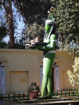 Egyptian God Huge Statue, Cromaris - January 2010