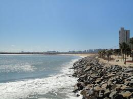 Fortaleza coastline on a beautiful day. - August 2012