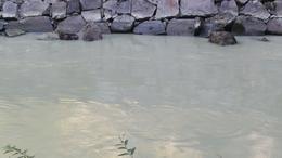 The milky glacier water at Aare Gorge , stefneehoward - October 2016