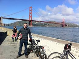 Golden Gate Bike Tour, Trina Tron - April 2011