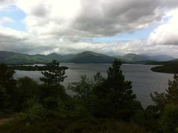 A slightly elevated photo of the Loch after a short walk up a hill , Jon - July 2013