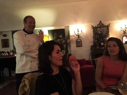 The chef sharing is show man!, Serena - October 2016