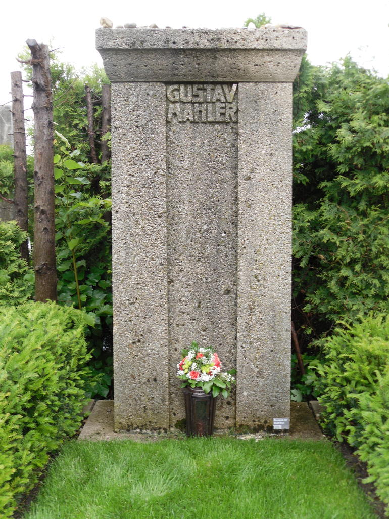 Mahler's Grave - Vienna
