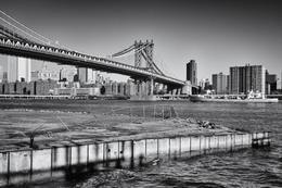 Blick auf Manhattan von Brooklyn aus. , Andreas K - April 2013