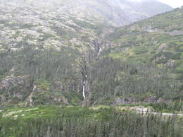 This is one of the waterfalls we saw on our tour. , William S - September 2014