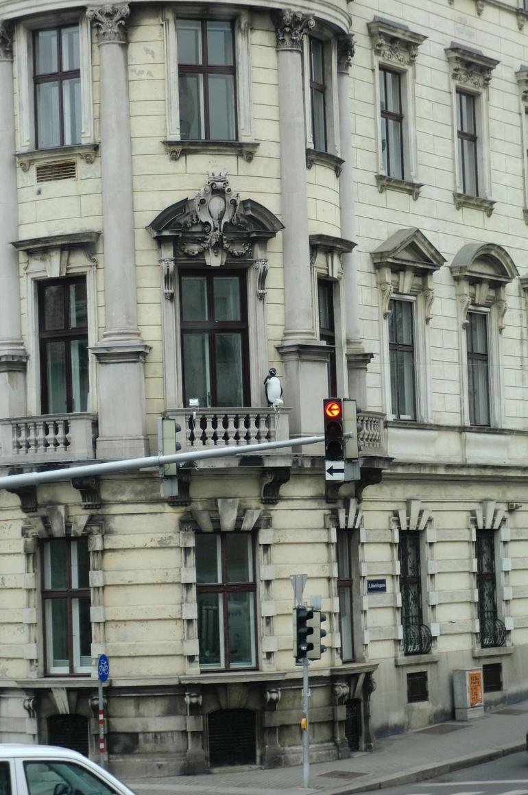 Penguin on a balcony - Vienna