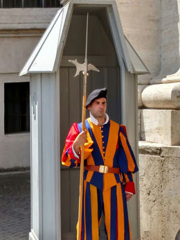 Swiss guard , Cynthia N - August 2016
