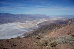 A top down view of the salt plain before we head down to the plain itself , Jing Yuan W - November 2015