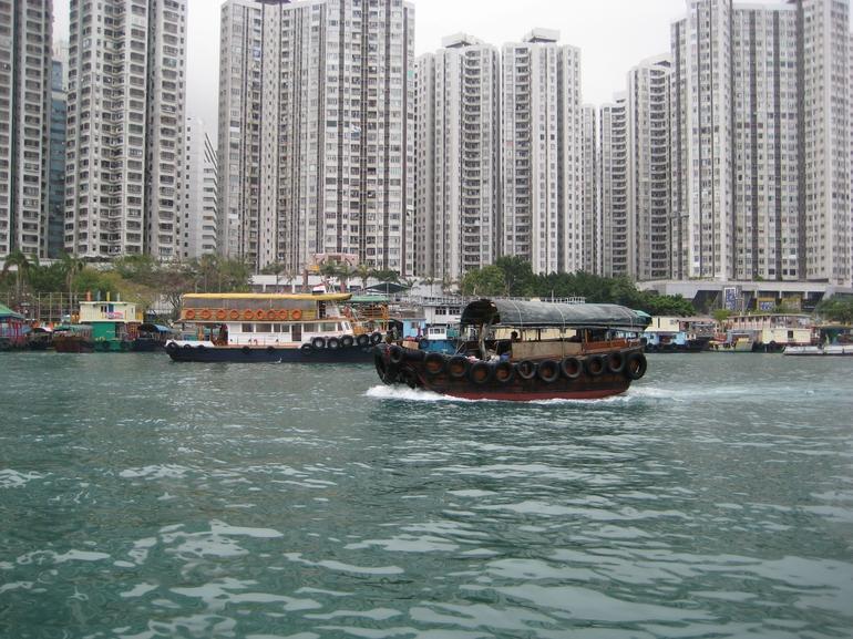 Sampan Ride - Hong Kong
