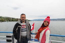 My Husband Tapas and my daughter Ankita , Shelly - May 2016