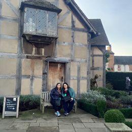 Shakespeare's birthplace , Elena K - February 2016