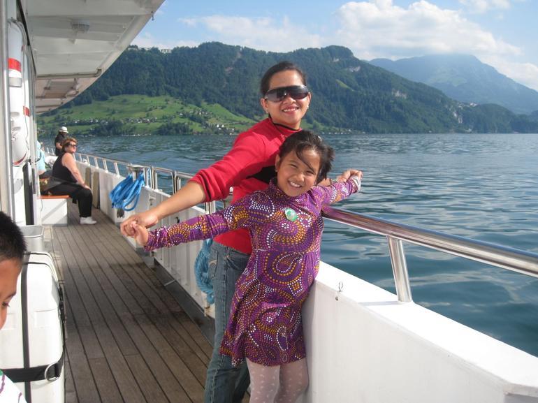 Stroll on the cruise - Zurich