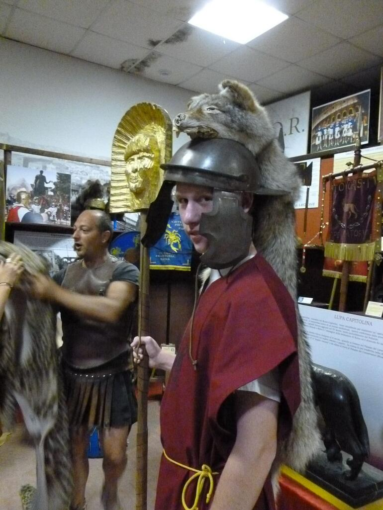 The emperor's banner carrier - Rome