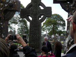 Brian did a great job of explaining history and details of Celtic Crosses and conducted a relaxed and enjoyable tour. , Anne-Marie - August 2011