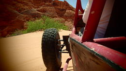 Driving through the dunes..., Lovenwar - May 2013
